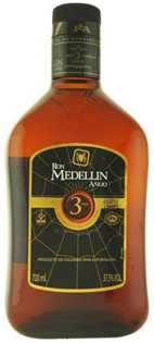 Ron Medellin Rum Anejo 3 Year 750ml